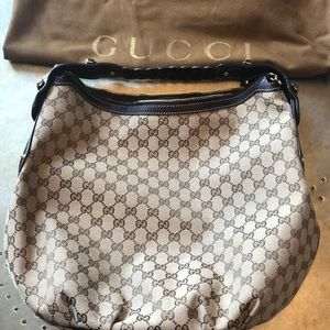 Gucci GG large hobo tote/shoulder bag